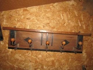 """Wall mount coat rack  33.5"""" x 8.75"""""""