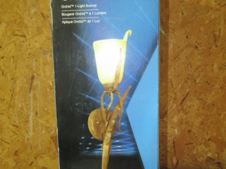 Orchid Light sconce