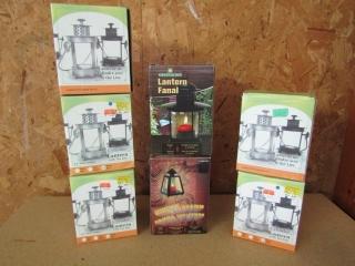 Seven Cylinder lanterns