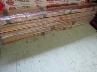Hardwood flooring  5 pkg about 20 sq ft. in each