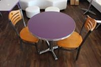 Dining Table w/ (2) Chairs, Table Measures 30