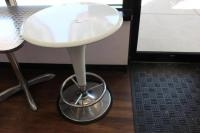 Table with Foot Rest, 24