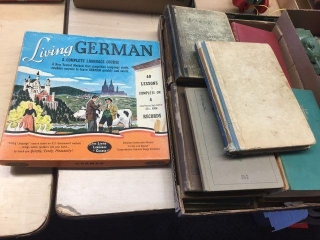 German language course & assorted books