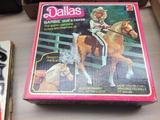 Dallas Barbie dolls horse