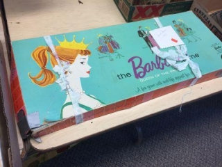 Barbie board game