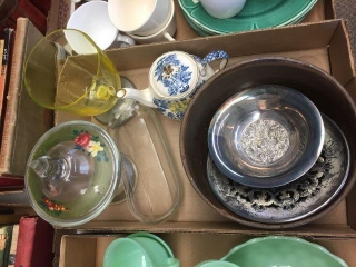 Covered dish & assorted
