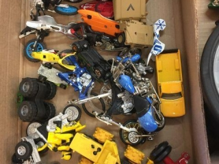 Assorted toys