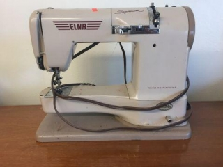 Elna supernatural sewing machine