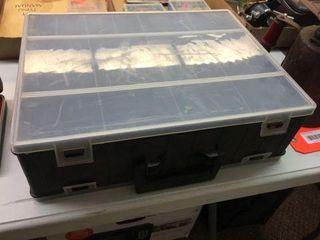 Plastic storage organizer