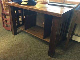 """Oak desk. 48""""x30""""x30"""""""