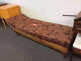 "Fainting couch. 70"" long"