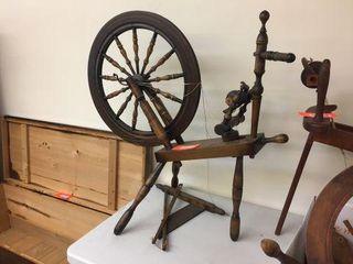 "Spinning wheel. 36""x37"""