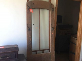 Door frame & coat rack frame with hooks