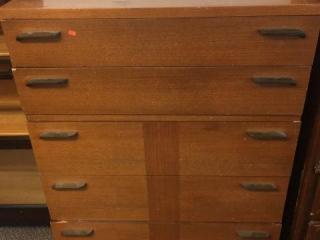 "5 drawer dresser. 34""x19""x45"""
