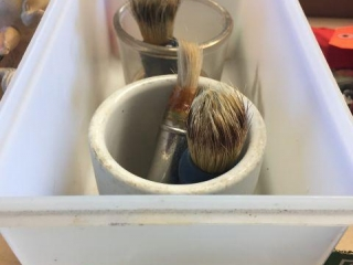 Shaving brushes & mugs
