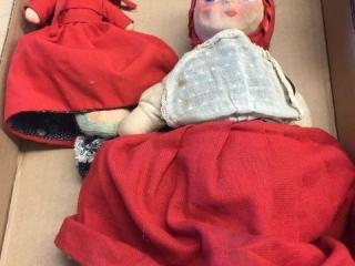 Lil red riding hood dolls