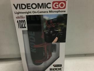 RODE MICROPHONES VIDEOMIC GO