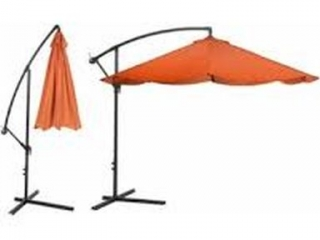ALUMINUM HANGING PATIO UMBRELLA