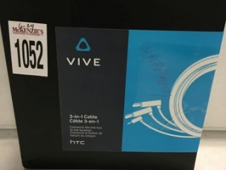 VIVE 3 IN 1 CABLE