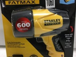 STANLEY FATMAX LED WATERPROOF SPOTLIGHT