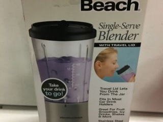 HAMILTON BEACH SINGLE SERVE BLENDER