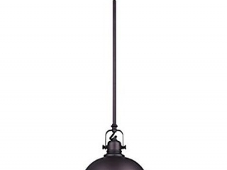 OIL RUBBED BRONZE METAL SHADE PENDANT