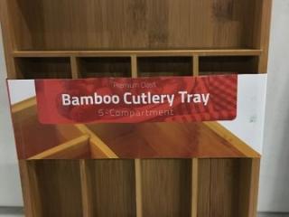 BAMBOO CUTLERY TRAY