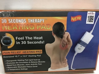 IGIA 30 SECONDS THERAPY HEATING PAD