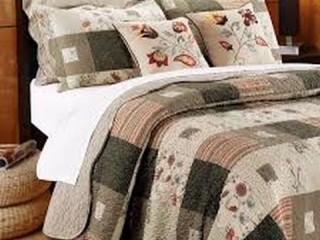 HELMA COTTON REVERSIBLE QUILT SET FULL