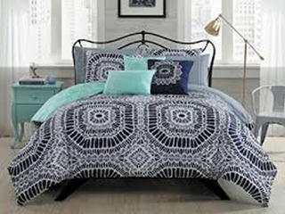 10-PIECE PETRA COMFORTER SET QUEEN