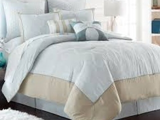 8-PIECE EMBROIDERED COMFORTER SET QUEEN