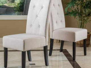 TOTAL OF 2 DINING CHAIRS