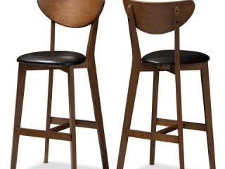 BAXTON STUDIO LEENA BARSTOOLS (2 IN TOTAL;