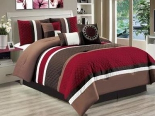 SAFDIE & CO 7-PIECE BED SET QUEEN