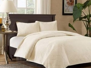 MADISON PARK 3-PIECE BEDSPREAD SET *KING*