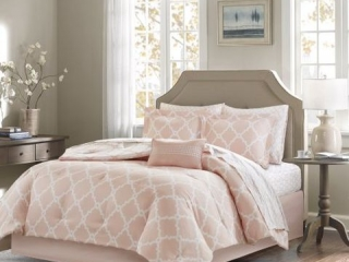 MADISON PARK 9-PIECE COMFORTER & SHEET SET QUEEN
