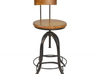 CAROLINA FORGE ADJUSTABLE STOOL