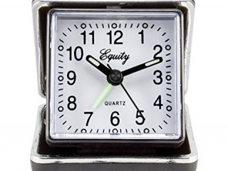 EQUITY FOLDING TRAVEL ALARM CLOCK