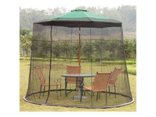 LOON PEAK 9' PATIO MOSQUITO NET ENCLOSURE