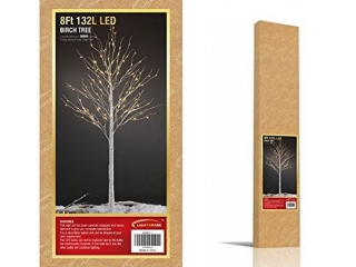 LIGHTSHARE 8' 132-LIGHT BIRCH TREE
