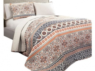 NESO 3-PIECE QUILT SET KING