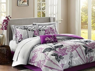 MADISON PARK - 6 PIECE TWIN COVERLET AND SHEET SET