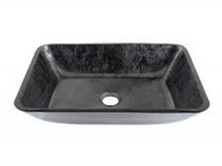 VIGO - GLASS VESSEL BATHROOM SINK