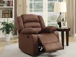 MICROFIBER RECLINER CHOCOLATE