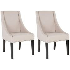 TOTAL OF 2 SIDE CHAIR LINEN