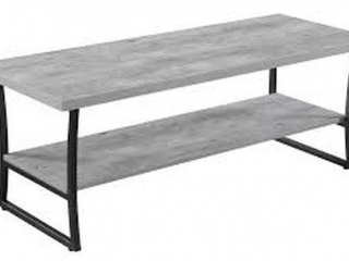GRAY COFFEE TABLE(NOT ASSEMBLED)