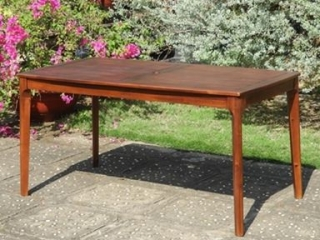 "RECTANGULAR DINING TABLE 59"" X 32"" X 30"""