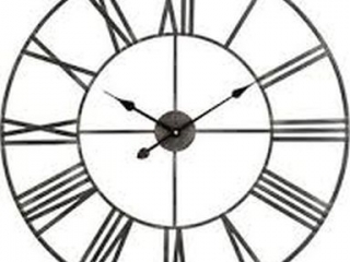 "32""METAL WALL CLOCK"
