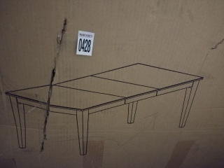 DINING TABLE (NOT ASSEMBLED/IN BOX)