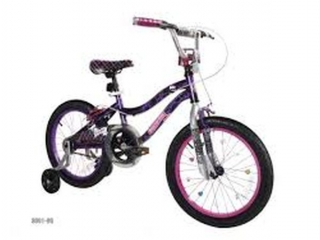 "18"" GIRLS MONSTER HIGH BIKE (NOT ASSEMBLED)"